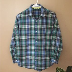 Gap Boys Plaid Button Down Shirts